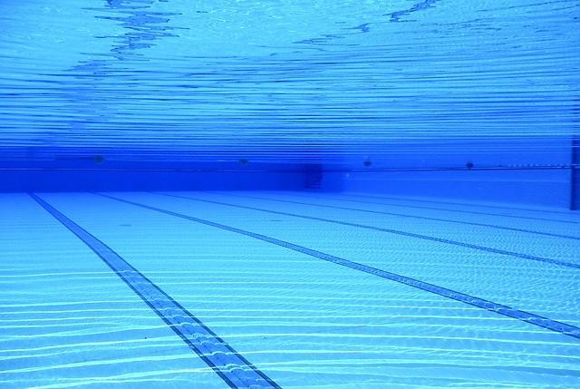 Bassin d'une piscine